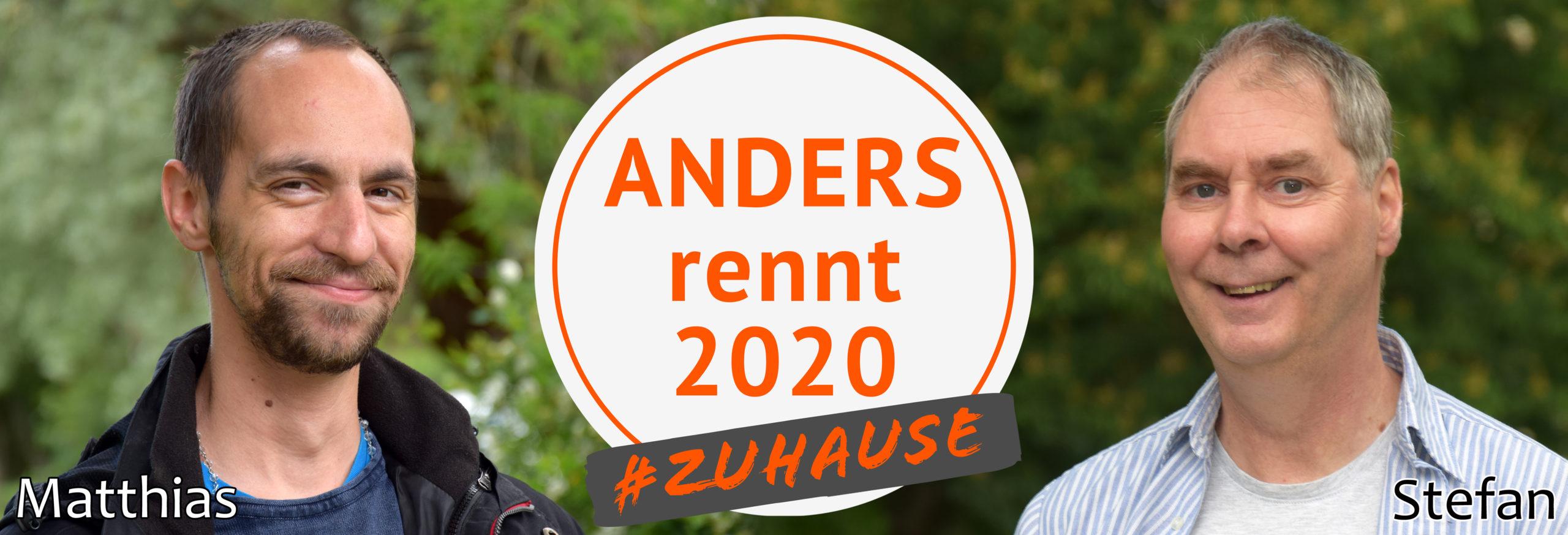ANDERS rennt 2020 - Matthias & Stefan