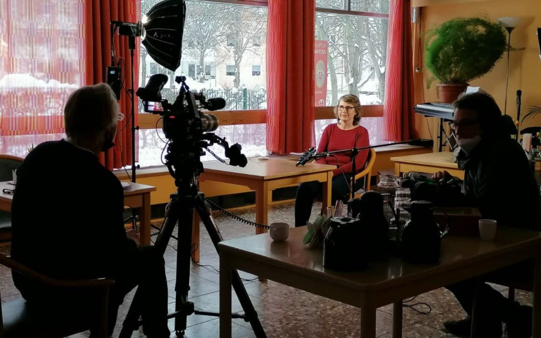 ANDERS-News-Kamerateam zu Besuch