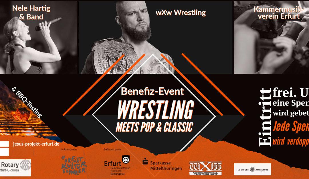 Benefiz-Event Wrestling meets Pop & Classic